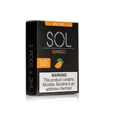 SOL - Pods: MANGO - The Vaping Solution