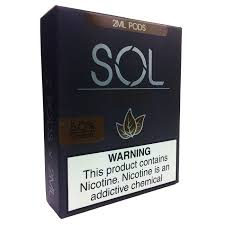 SOL - Pods: TOBACCO - The Vaping Solution - The King of Vape