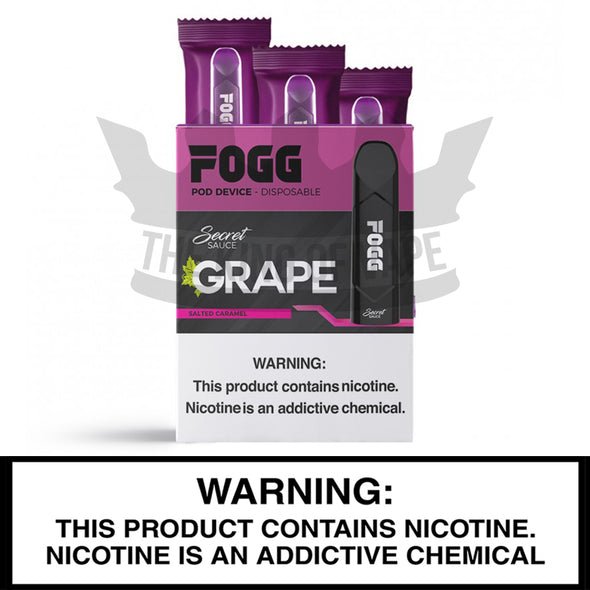 FOGG Disposable Pod Device - 3 Pack - The King of Vape