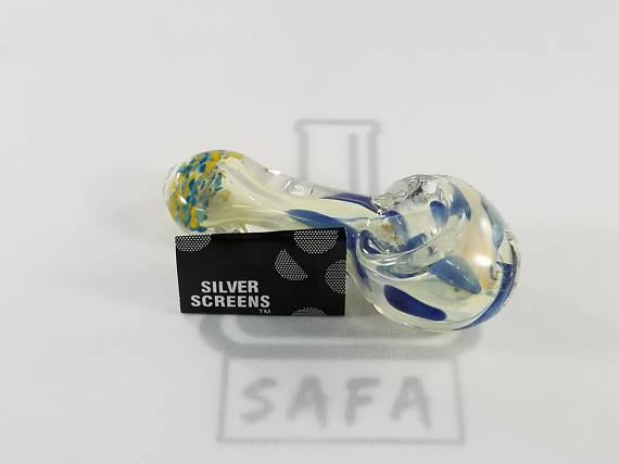 "Glass Smoking Hand Pipe 4"" - The King of Vape"