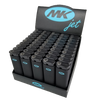 MK Jet Black Full Size Premium Lighters - The King of Vape