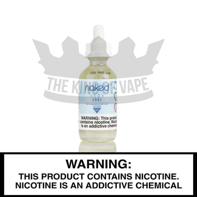 Very Cool by Naked 100 E-liquid - 60ml - The King of Vape