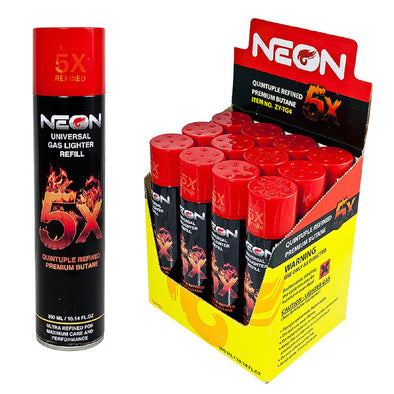 Neon 5x Refined Butane - The King of Vape
