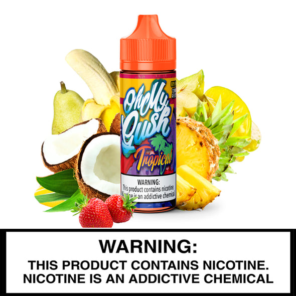 Oh My GUSH - Tropical - 120ml - The King of Vape