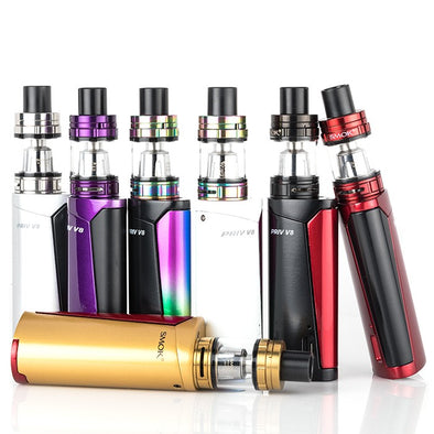 SMOK PRIV V8 60W STARTER KIT WITH TFV8 BABY BEAST TANK - The King of Vape