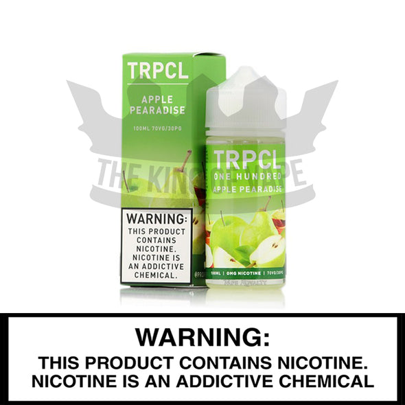 Apple Pearadise by TRPCL One Hundred - The King of Vape