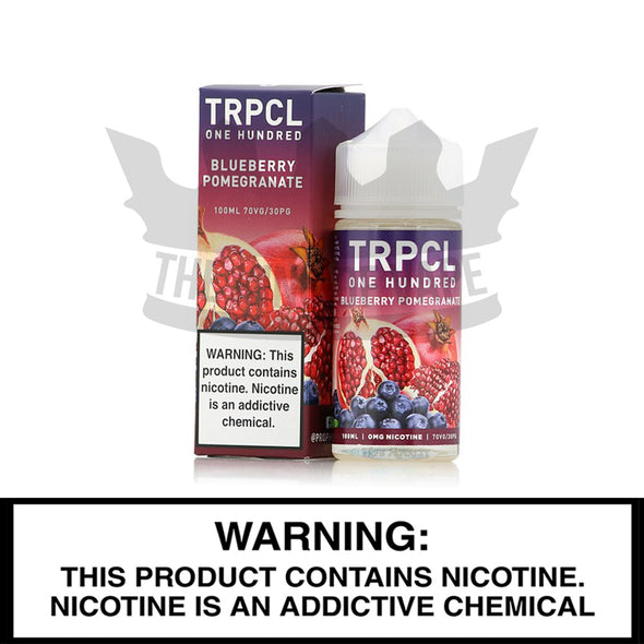 Blueberry Pomegranate by TRPCL One Hundred - The King of Vape