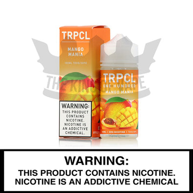 Mango Mania by TRPCL One Hundred - The King of Vape