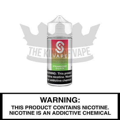 Strawberry Guava by USA Vape Labs, 100 mL Bottle - The King of Vape