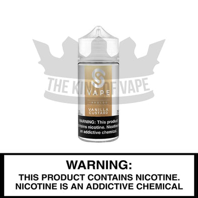 Vanilla Custard by USA Vape Labs, 100 mL Bottle - The King of Vape