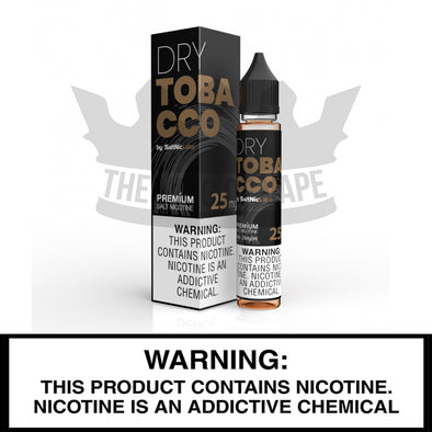 Dry Tobacco by SaltNicLabs - VGOD - The King of Vape