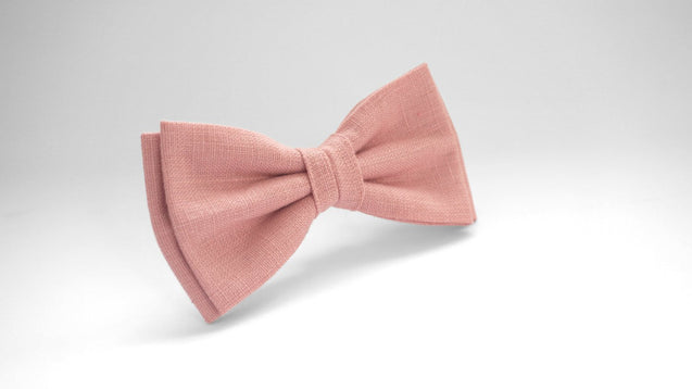 Pink bow tie, bow tie shop, pre tied bow ties, bow ties for boys, wedding ties, bow tie fashion, bow tie men, bow ties for boys - MenLau