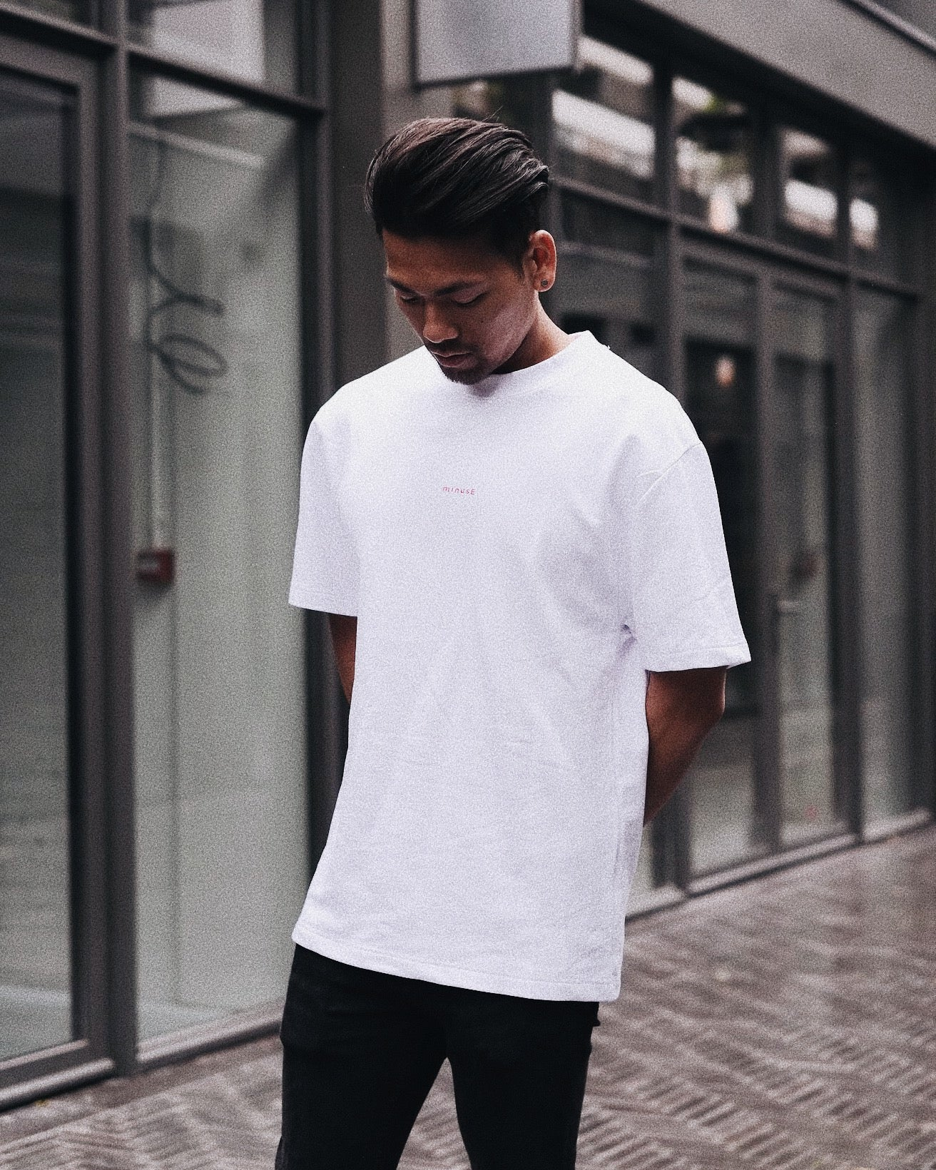 Mariner Tee (White/Red)