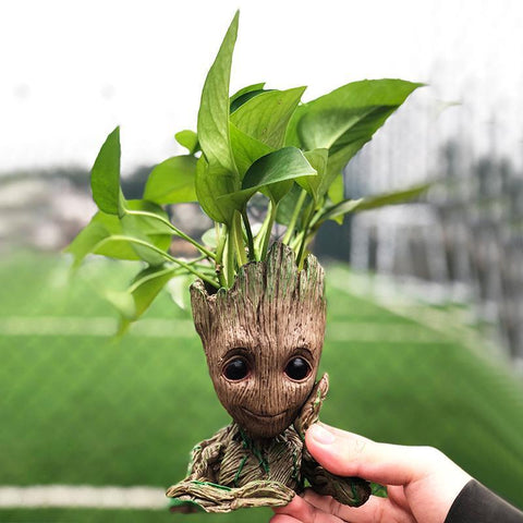 Baby Groot Flowerpot - Waiting For Sunrise