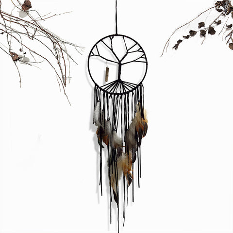 Handmade Tree of Life Dreamcatcher - Waiting For Sunrise