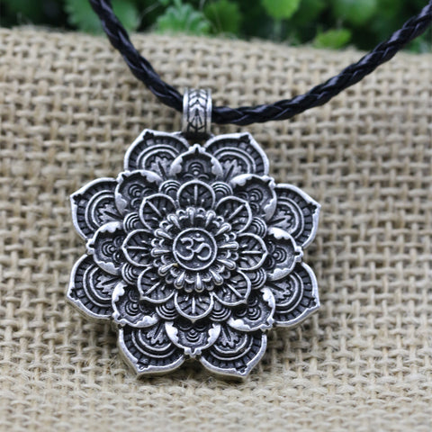 Tibet Spiritual Mandala Pendant - Waiting For Sunrise