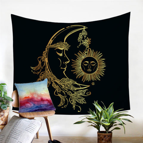Sun and Moon Tapestry - Waiting For Sunrise