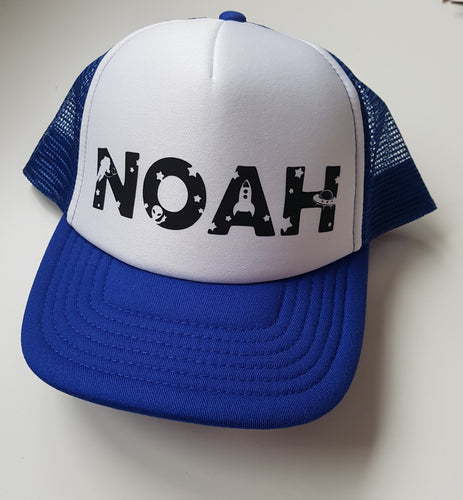 Space name design snap back - youth