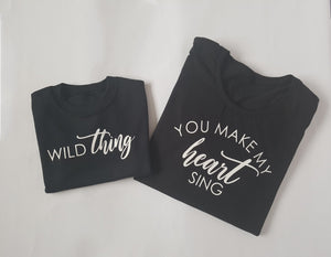 Wild Thing (adult & child set)