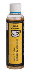 Milk Frother Cleaner & Sanitiser 250ml Cino Cleano