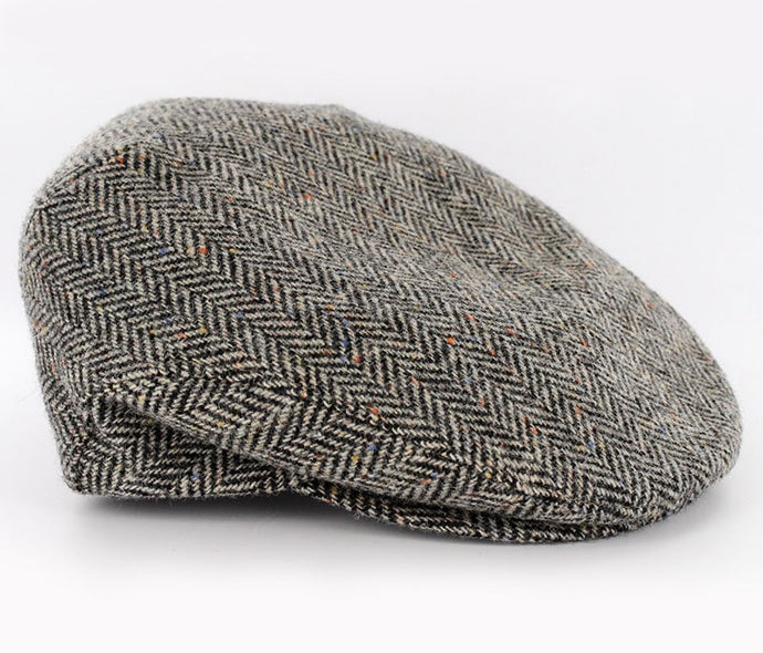 MUCROS WEAVERS TRINITY CAP PATTERNED GREY