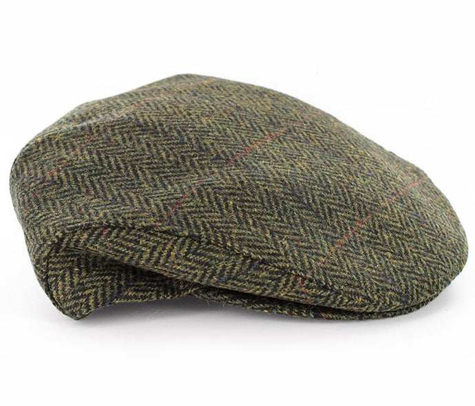MUCROS WEAVERS TRINITY CAP PATTERNED GREEN/YELLOW