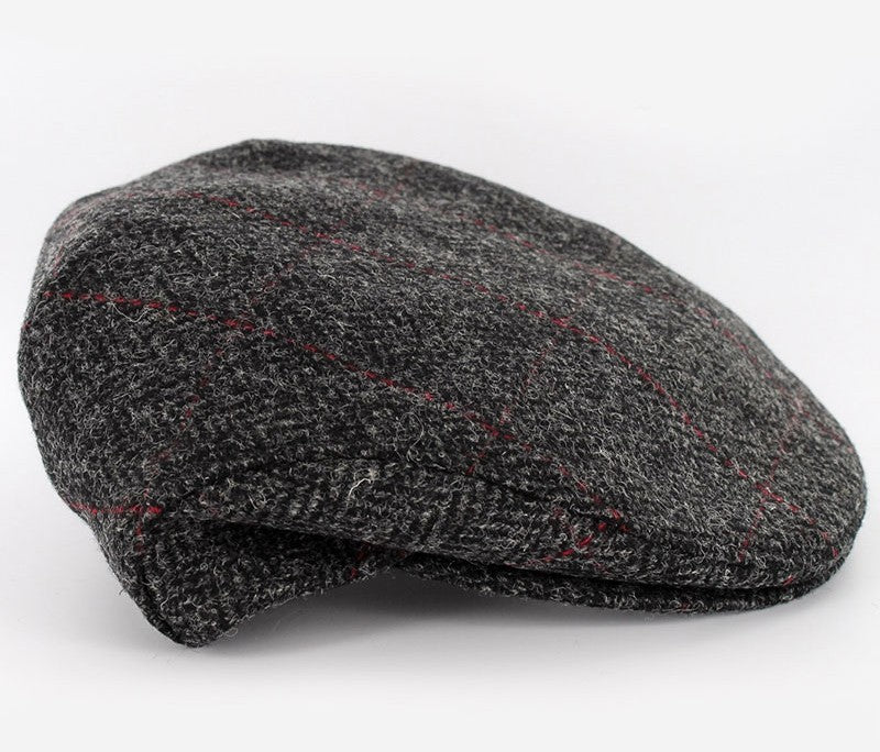 MUCROS WEAVERS TRINITY CAP PATTERNED DARK GREY