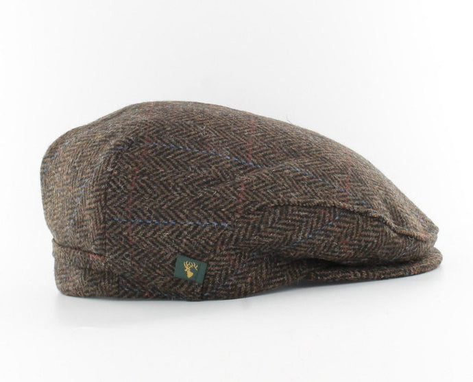MUCROS WEAVERS TRINITY CAP PATTERNED BROWN