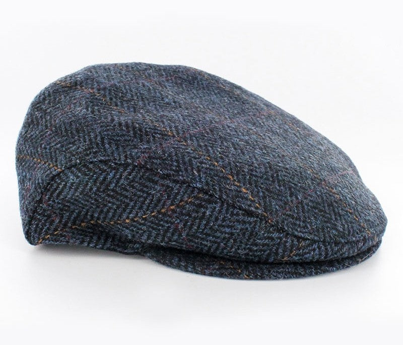 MUCROS WEAVERS TRINITY CAP PATTERNED BLUE