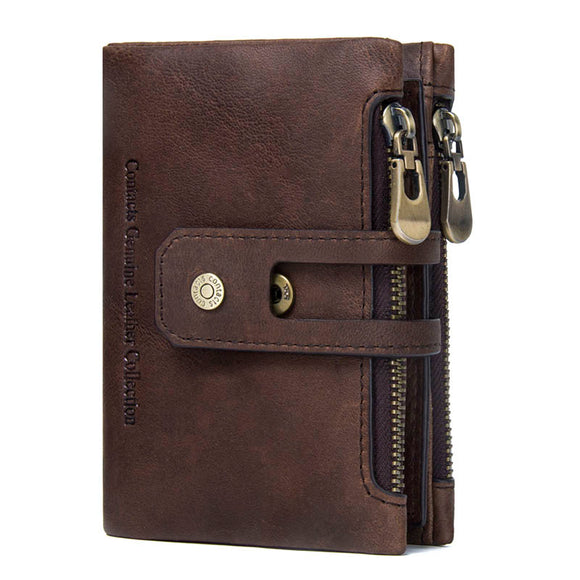 Leather Wallet by Contacts