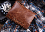 Leather Bifold Wallet by Contacts - Men's Best Wallets