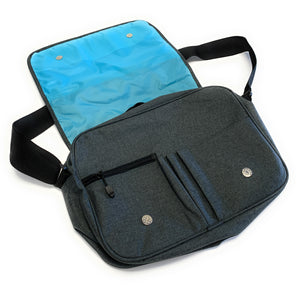 broski Charcoal Messenger Bag