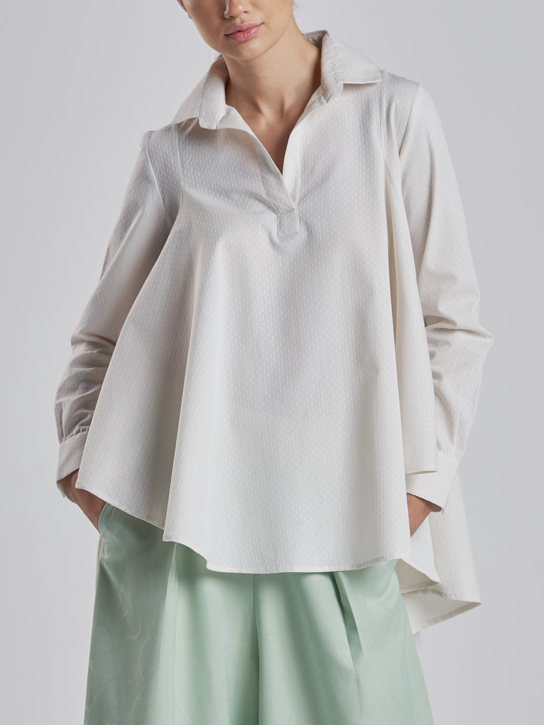Flowy 100% Cotton Shirt