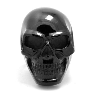 BLACK HEAVY GRIN SKULL