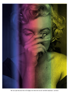 marilyn monroe colorfull screen print home decor yellow green pink red blue