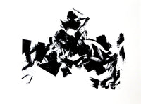 Black and white, Abstract art prints