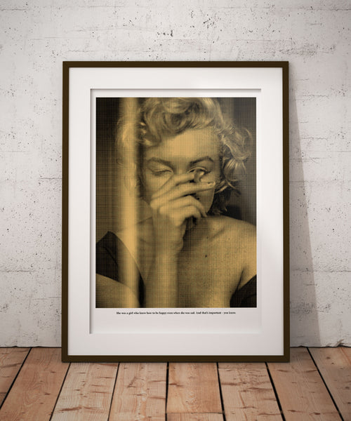 Jacob Ben Cohen | GOLD Marilyn Monroe