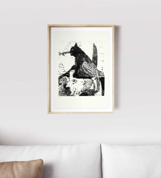 wall art wall decor screen print art modern Israeli artists  Screenprint Poster Poster Print serigraphs