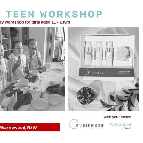 Skin Fresh Workshop for girls