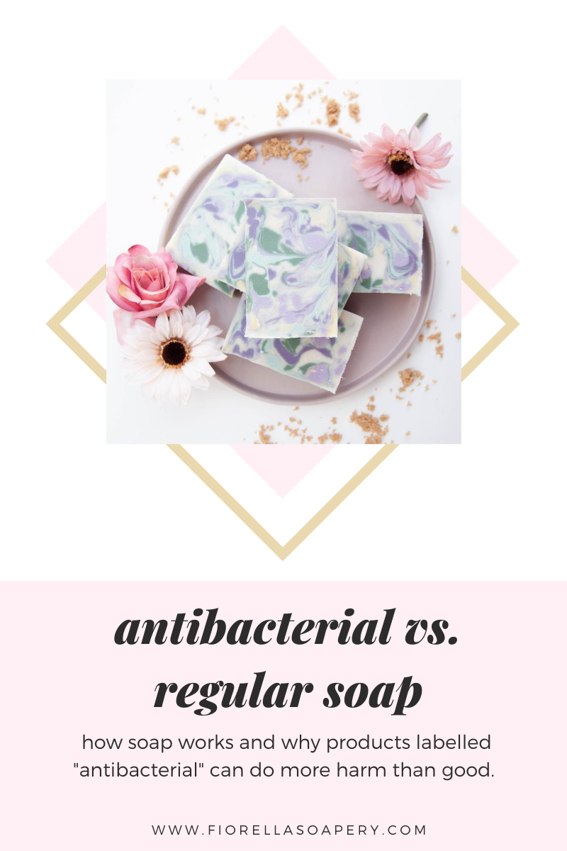Antibacterial Soap vs. Natural Soap