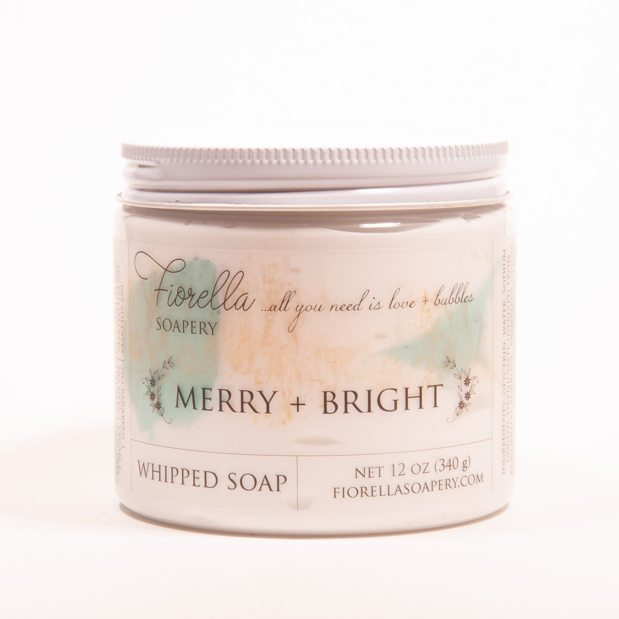 Merry + Bright Whipped Soap