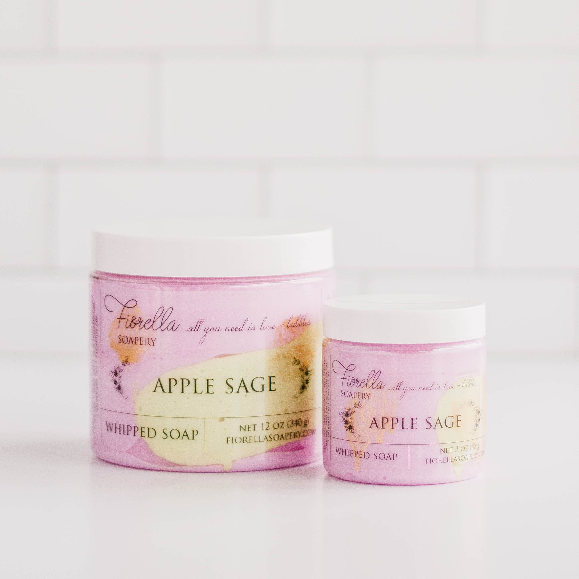 Apple Sage Whipped Soap