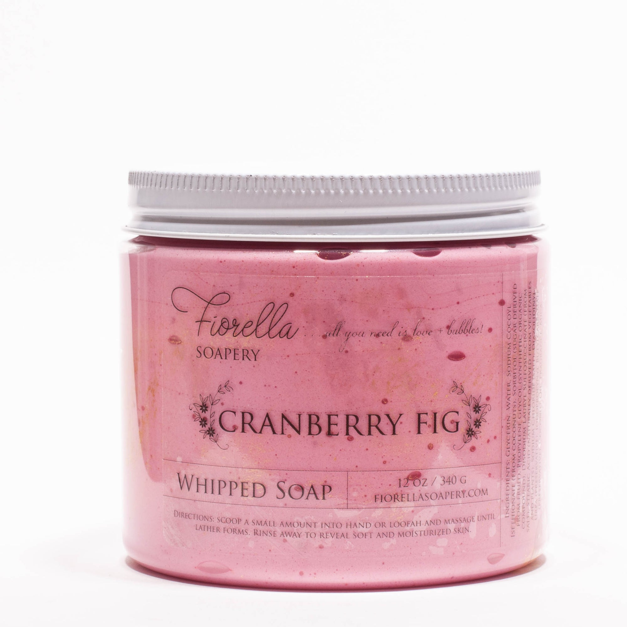 Cranberry Fig Whipped Soap