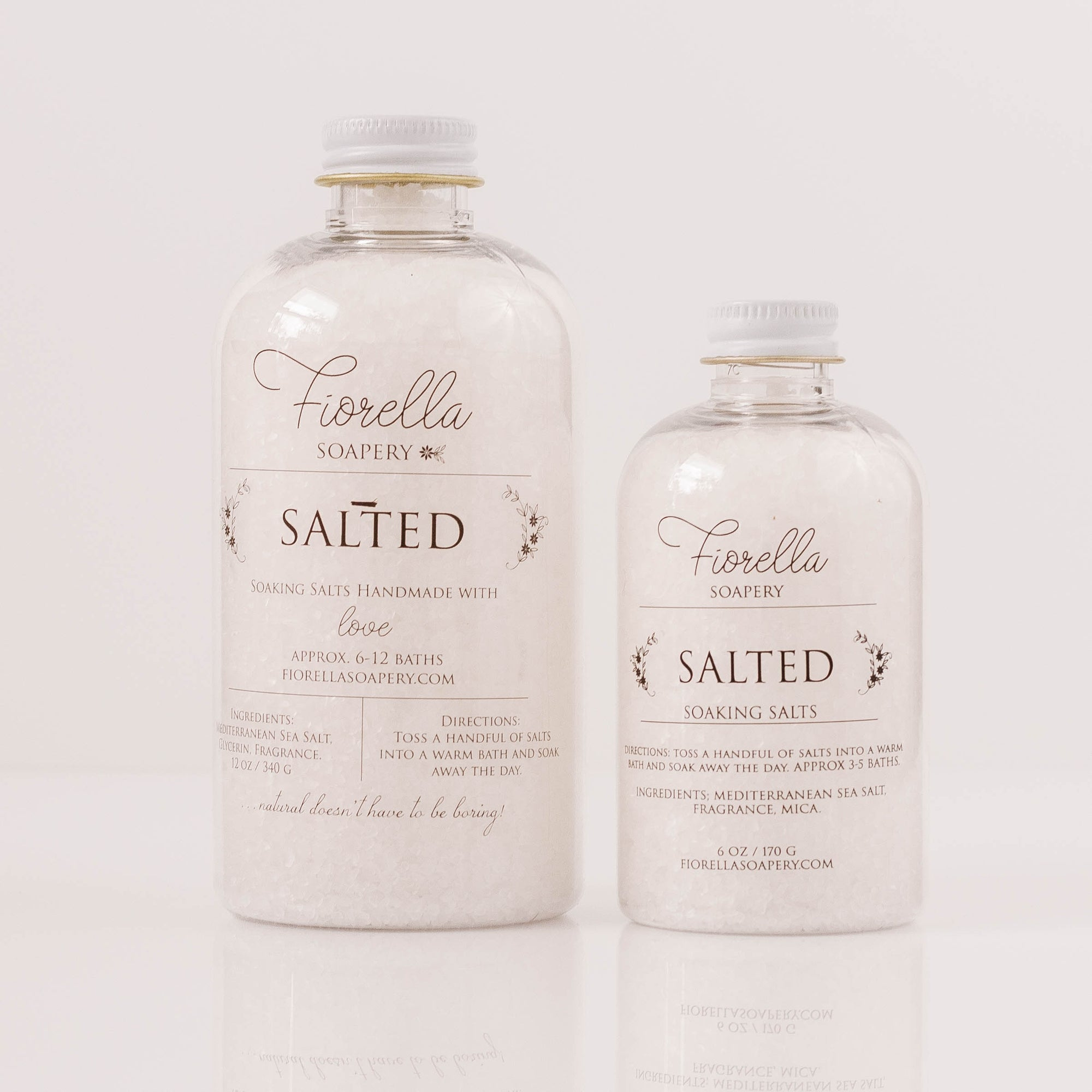 Salted Soaking Salts