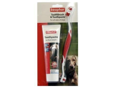 Beaphar Toothbrush and Toothpaste Kit, 100g - DogSmart.ie