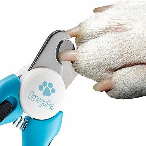 Dog Nail Clippers  Medical Grade Stainless Steel - Includes Safety Guard and Nail File - DogSmart.ie
