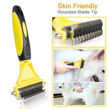 Pet Grooming Undercoat Rake Comb Stripping Tool For Dogs - DogSmart.ie