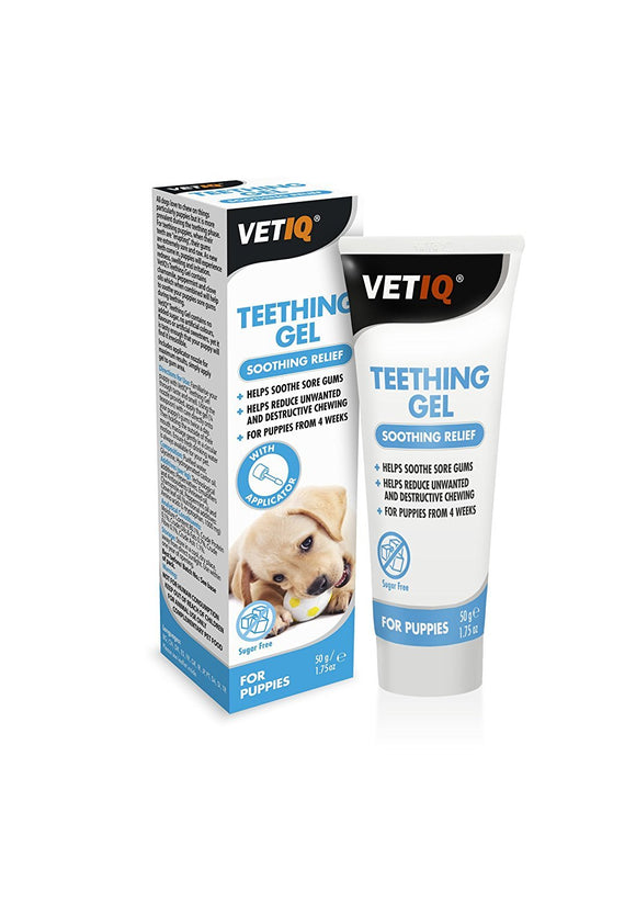 Mark And Chappell Ltd VetIQ Teething Gel Soothing Relief - DogSmart.ie