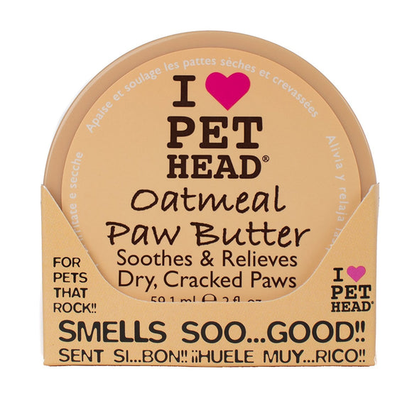 Company of Animals Pet Head Oatmeal Paw Butter - DogSmart.ie