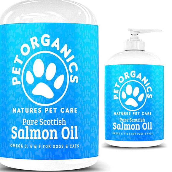 100% Pure Natural Scottish Salmon Oil For Dogs - DogSmart.ie